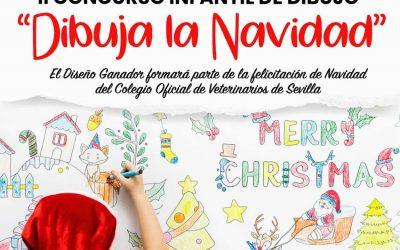 """El Colegio Oficial de Veterinarios de Sevilla organiza el II Concurso Infantil""""Dibuja la Navidad"""" 2019"""