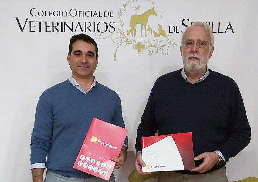 El Colegio Oficial de Veterinarios de Sevilla firma un convenio de colaboración con Plasticosur