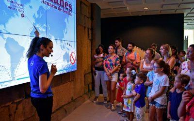 El Colegio de Veterinarios de Sevilla visitamos el Acuario de Sevilla con nuestros colegiados,  familiares y amigos