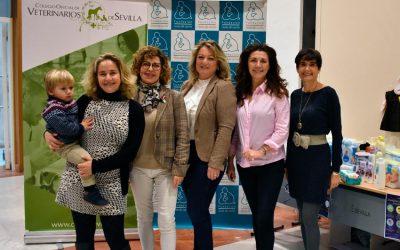 """Gran éxito en la """"II Fiesta Infantil Solidaria de Navidad"""" organizada por el Colegio de Veterinarios de Sevilla"""