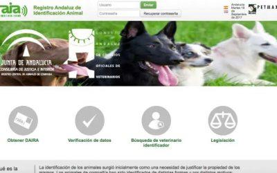 El CACV y la Junta de Andalucía renuevan el acuerdo para la gestión del Registro Central de Animales de Compañía