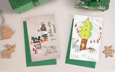 Ganadores de los concursos infantiles organizados por el I.C.O.V. de Sevilla en la Navidad 2020