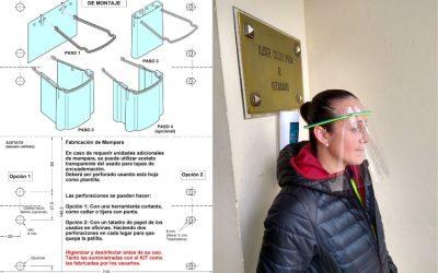 El Colegio de Veterinarios de Sevilla reparte máscaras protectoras a sus colegiados ante la COVID-19