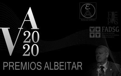 Las ADSGs de Andalucía, D. Anselmo Perea y Editorial Acribia, premios Albéitar 2020